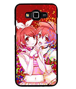 Fuson 2D Printed Girly Designer back case cover for Samsung Galaxy Grand 3 - D4544