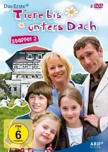 Tiere bis unters Dach - Staffel 2 [2 DVDs]