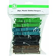 Do it Best GS 606491 Plastic Clothes Pins - Smart Savers-20PC POLY CLOTHES PINS