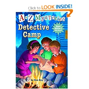 a to z mysteries detective camp book report The nook book (ebook) of the detective camp (a to z mysteries super edition #1) by ron roy at barnes & noble free shipping on $25 or more.
