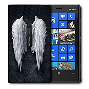 Snoogg Broken Angel Wings Printed Protective Phone Back Case Cover For Nokia Lumia 920
