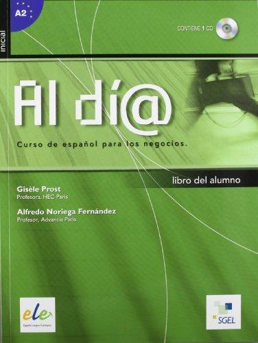 al-dia-curso-inicial-libro-del-alumno-con-cd-audio-per-gli-ist-tecnici-e-professionali