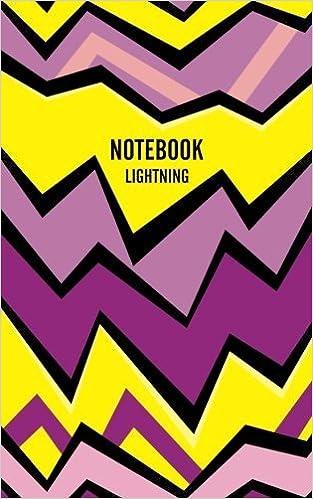 Lightning Lined Notebook