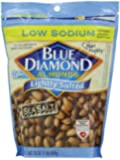 Blue Diamond Almonds, Lightly Salted-Low Sodium, 16-Ounce