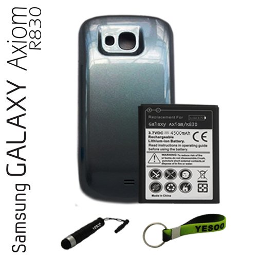 Samsung Galaxy Axiom R830 (US Cellular) 4500mAh Extended Battery And