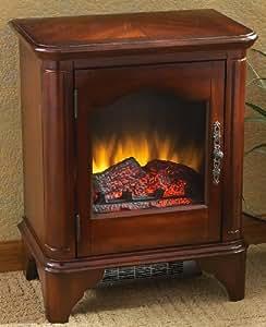Cherry - finish Electric Fireplace Heater