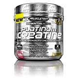 MuscleTech Platinum 100% Creatine, Ultra-Pure Micronized Creatine Powder, 80 Servings, 0.88 lbs (400g)