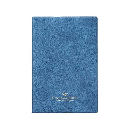 マークス EDiT 手帳 2017 1月始まり B6変型 1日1ページ ブリリアント ブルー 17WDR-ETA03-BL