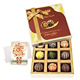 Chocholik Luxury Chocolates - Collection Of Tasty Truffles With Birthday Card