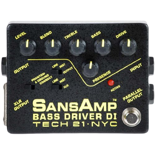 SANSAMP/Tech21 BASS DRIVER DI ベース用DI プリアンプ