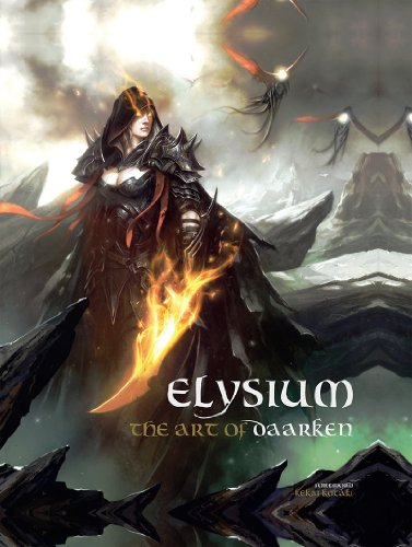Elysium -The art of Daarken- ハードカバー