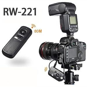 CE Compass 100M Wireless Shutter Remote Control Release For Nikon D700, D300, D200, D1 series, D2 series, D3 series, F5, F6, F100, F90, F90X, Fujifilm S3, S5 Pro, Kodak DCS-14n
