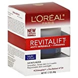 L'Oreal RevitaLift Moisturizer, Anti-Wrinkle + Firming, Night Cream, 1.7 oz (48 g)