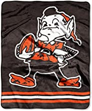 Cleveland Browns Brownie Elf Plush Blanket 50x60 Exclusive