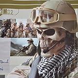 陸軍 M02 スカル フェイス保護マスク
