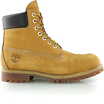 d2eee117121 Timberland Men s 6-inch Premium Waterproof Boots Wheat  White 27016 ...