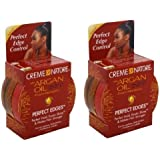 Creme of Nature Argan Oil Perfect Edges Control Hair Gel-2.25 oz (Pack of 2)