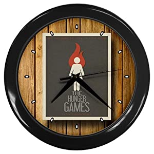 The Hunger Games Movie Wall Clocks 10 Inch