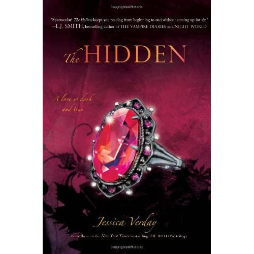 The Hidden (The Hollow Book 3) by Jessica Verday
