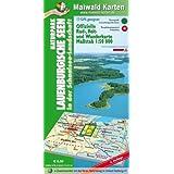Lauenburg = Offizielle Rad-, Reit- u. Wanderkarte Naturpark Lauenburgische Seen in der Schaalsee-Landschaft: 1:50.000 - GPS geeignet - Kartennetz: Gaus-Krüger-Projektion auf WGS 84