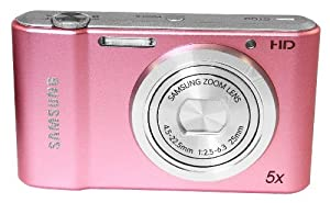 Samsung St68 Compact Digital Camera - 16.1mp - 5x Optical Zoom- Live Panorama - Pink