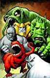 img - for Marvel Monsters (Oversized) book / textbook / text book