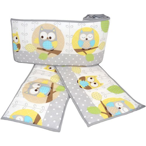 Child of Mine Treetop Friends Owl Crib Bumper - 1