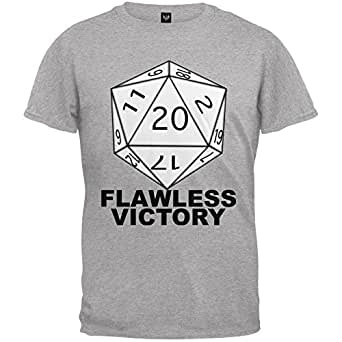 Amazon.com: Flawless Victory D20 Role Playing Game Grey