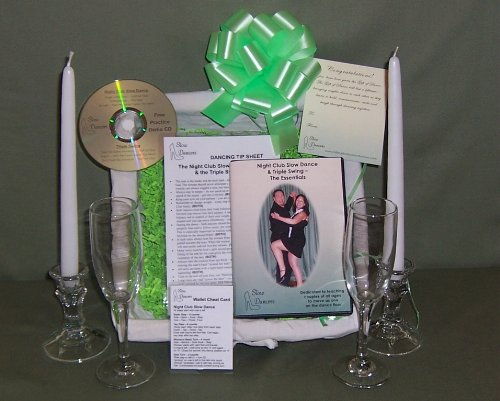 Learn to Dance Wedding Gift Basket Dance Instruction By Slow Dancers & More