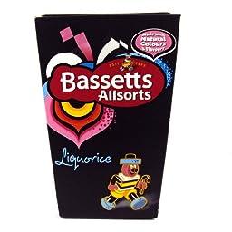 Bassetts Allsorts Liquorice 460g Carton