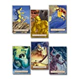 Mythology Educational Laminated Poster Series. World Literature Art Prints. Featuring: Demeter/Ceres, Hera/Juno, Hestia/Vesta, Hades/Pluto, Poseidon/Neptune, and Zeus/Jupiter, Poster Series