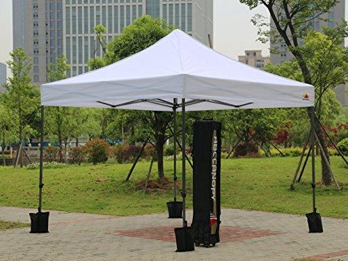 Abccanopy 10x10ft Outdoor Ez Pop Up Canopy Protable Shade