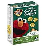 Earth's Best Organic Crunchin' Crackers, Veggie, 5.3 Ounce (Pack of 6)
