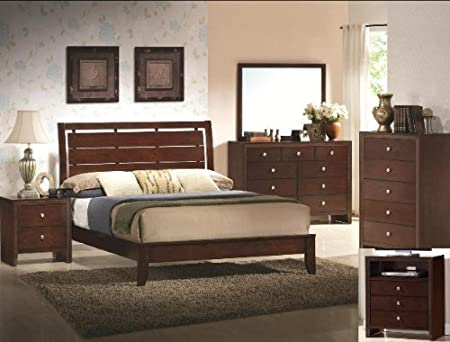Evan King Bed By Crown Mark