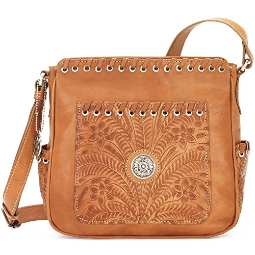 american-west-sacs-bandouliere-femme-marron-golden-tan-taille-unique