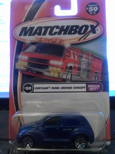 Matchbox Chrysler Panel Cruiser Concept Wheeled Envy #59/75 2001 - 1