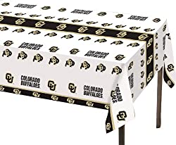 Creative Converting Colorado Buffaloes Plastic Banquet Table Cover