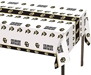 Buy Creative Converting Colorado Buffaloes Plastic Banquet Table Cover by Creative Converting