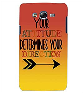 PrintDhaba Quote D-2873 Back Case Cover for SAMSUNG GALAXY J5 (Multi-Coloured)