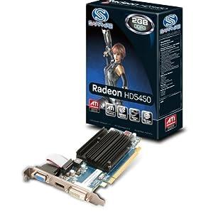 Sapphire HD5450 Carte graphique AMD 2048 Mo G-DDR3 PCI-Express 16x 650 MHz