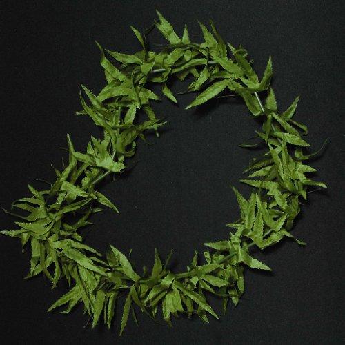 Marijuana Leaf Jamaican Lei - 1