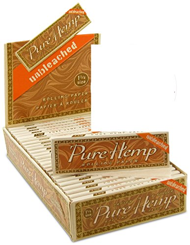 6 Pure Hemp Unbleached Brown 1 1/4 Natural Gum Cigarette Rolling Papers Packs (50 Leaves/pack) + Beamer Smoke Sticker. For Legal Smoking Herbs, Rolling Tobacco, Cones, Herbal Mixes, Rollers, Injector (Vapors For Smoking compare prices)