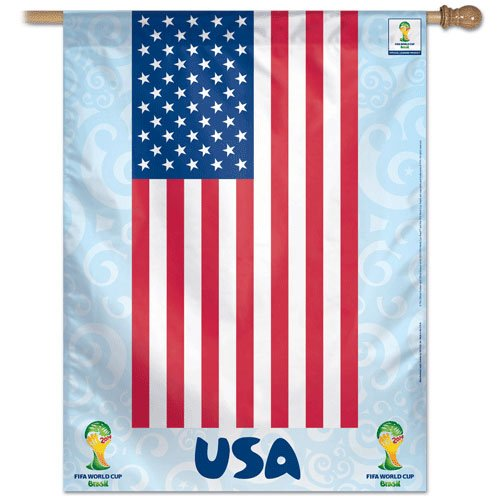 "USA - 27"" x 37"" Country World Cup 2014 Vertical Banner"