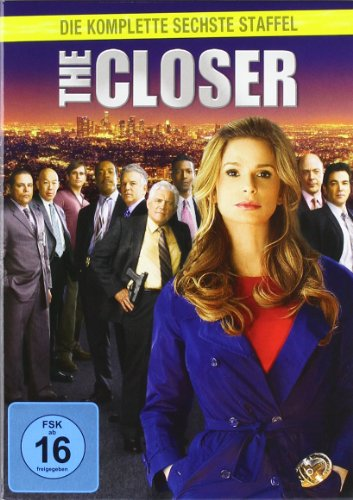 The Closer - Die komplette sechste Staffel [3 DVDs]