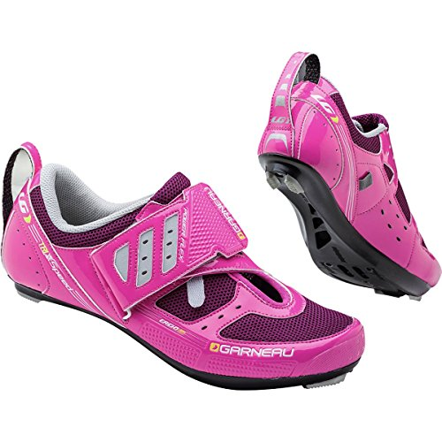 Louis Garneau Tri X-Speed II Shoes - Women's Pink Glow, 40.0 (Garneau Cycling Shoes compare prices)