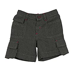 Lilliput Baby Boys Shorts (8907264051552_Black_12-18 Months)