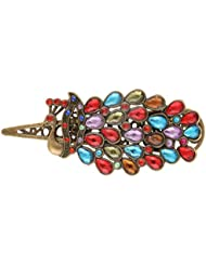 Multicolour Royal Peacock Hair Pin Hair Clip 19 Likes Hair JewelleryALHP0181ML