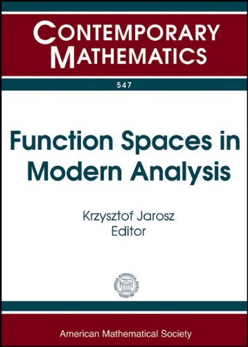 Function Spaces in Modern Analysis: Sixth Conference on Function Spaces, May 18-22, 2010, Southern Illinois University,