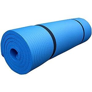 ScSPORTS Tapis de gymnastique 60 cm bleu