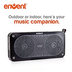 Envent LiveFree 370 Portable Bluetooth Speakers, Ultra Light Wireless Speakers weight only 200 gm, Ultra Clear & Loud 10W Output